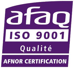 Meridies est certifié ISO 9001:2015 AFNOR