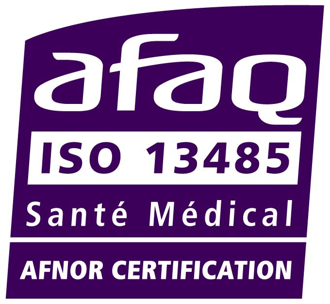 Meridies est certifié ISO 13485:2016 AFNOR