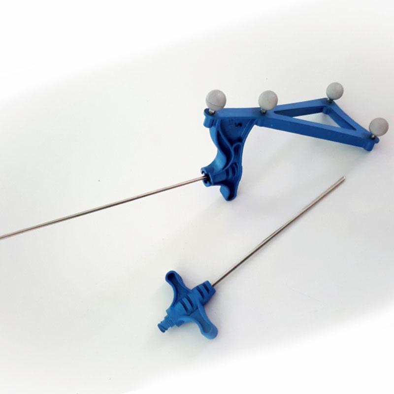 MERIDIES : Pièce technique avec surmoulage, inserts et résinage à destination du médical