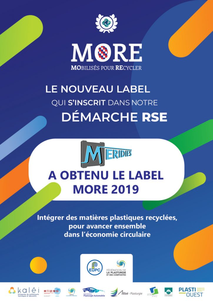 Affiche Label More 2019 Meridies