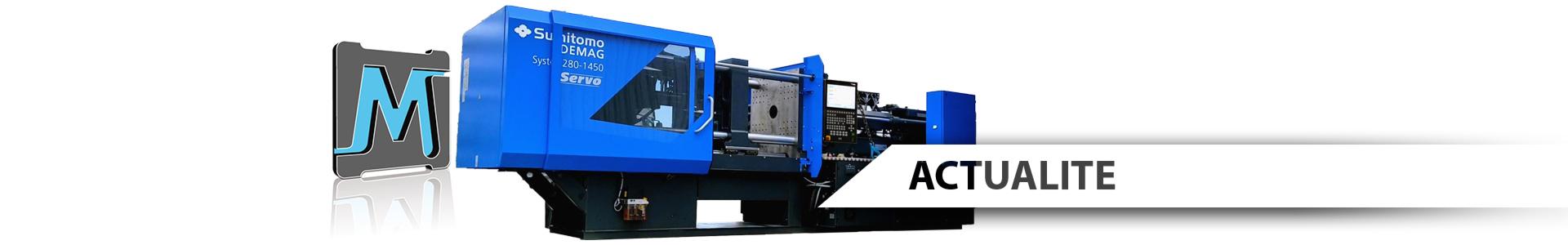 Nouvelle presse Sumitomo-Demag pou rinjection plastique 280 tonnes nouvelle génération arrivée septembre 2021